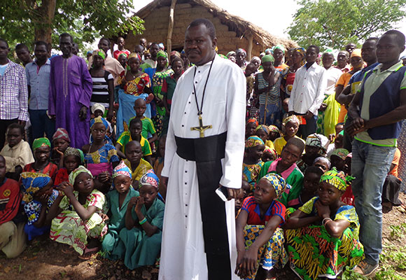 Brother Ernest Mbemba, OMI is the chariman of the Missionary Oblates' Justice, Peace and Integrity of Creation program in Cameroon.