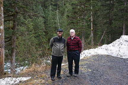At the age of 70, Fr. Tom, was sent to Cardova, Alaska.