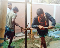 Digging Wells in Bangladesh