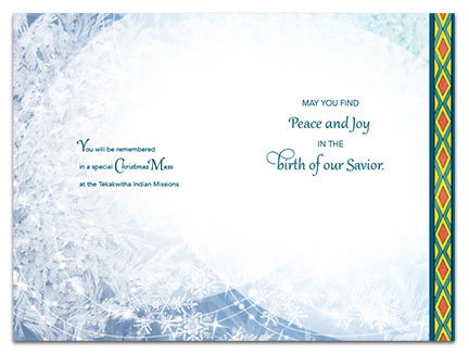 Tekakawitha Christmas Card