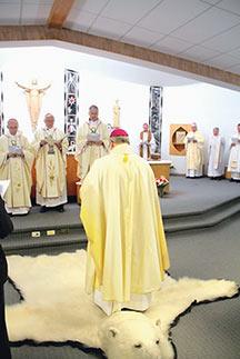 Bishop from Alaska