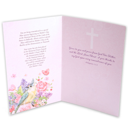 Rejoice in God's Love on Mother's Day card