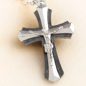 Father's Day Rosary crucifix