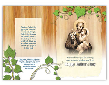 Fathers Day Card inside