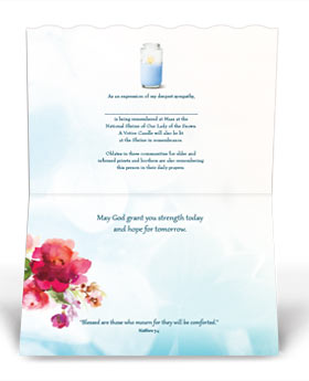 Wishing You Comfort & Peace Card