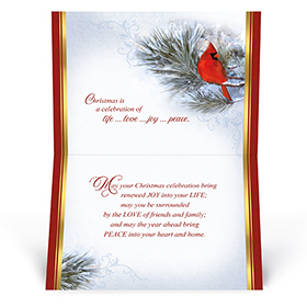 Christmas Blessing Card