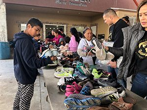 Hundreds of children are walking in comfort in Tijuana, B.C., Mexico thanks to a partnership between the Missionary Oblates and God's Children Global.