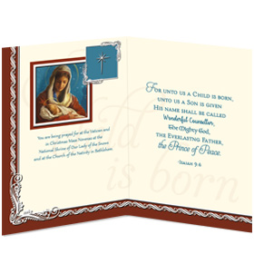 A Child is Born Card