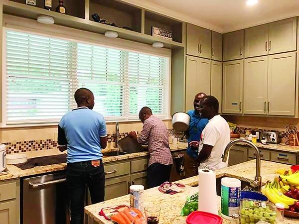 Kitchen Working