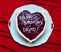 Valentine's/Birthday Cake