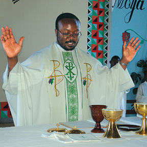 Bishop Valentine Kalumba, O.M.I.