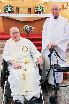 Fr. Roger and Fr. Myles
