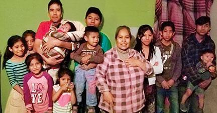 the family of Senor Mauro