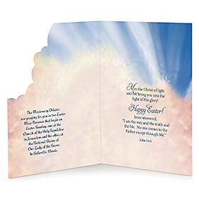 Rejoice! He has risen Card