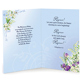 With god's Love & Blessings Card