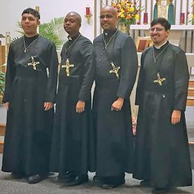 Four Oblates Profess Perpetual Vows